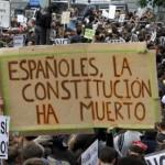 Españoles, la Constitución a muerto